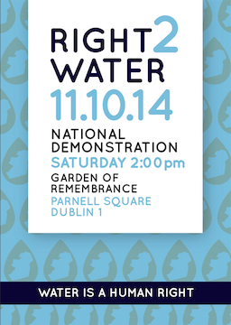 Water charges flyer